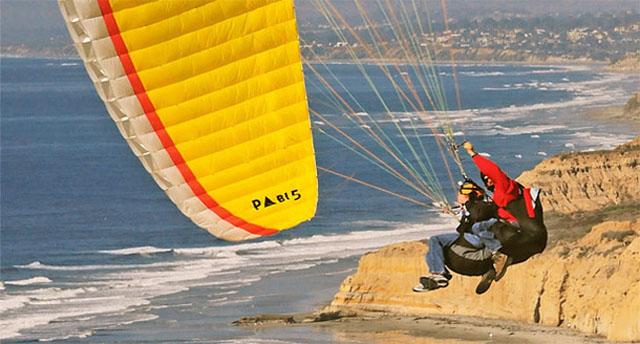 tandem-gliding