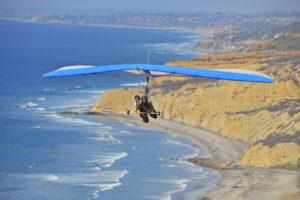 Tandem hang gliding