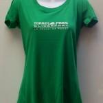 tpg ladies v-neck green