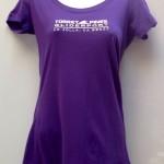 tpg ladies v-neck purple