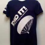 I did it t-shirt blue