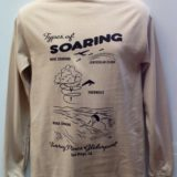 Types of soaring t-shirt